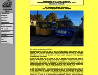 traditionsbus.de screenshot