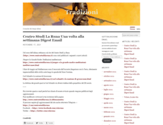 tradizioni.wordpress.com screenshot