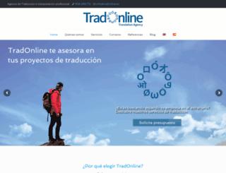 tradonline.es screenshot
