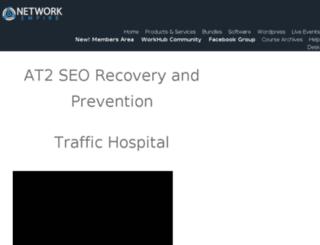 traffichospital.com screenshot