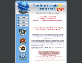 trafficleads2income.com screenshot