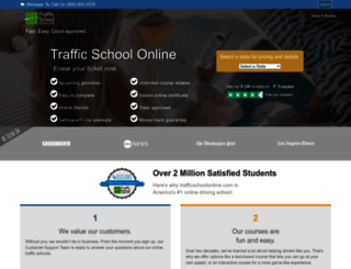 trafficschoolonline.com screenshot