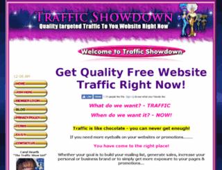 trafficshowdown.com screenshot