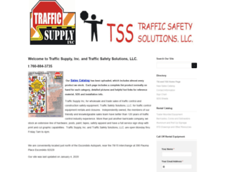 trafficsupplyinc.com screenshot