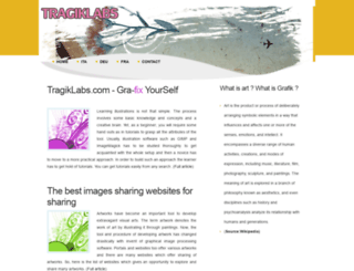tragiklabs.com screenshot