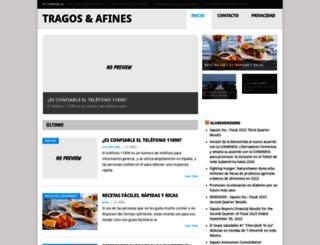 tragosyafines.com screenshot