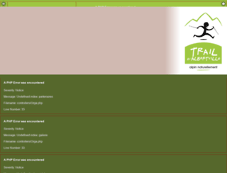 trail-albertville.tracedetrail.fr screenshot