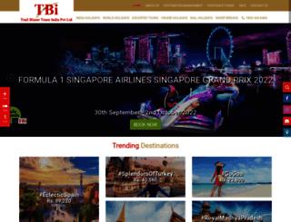 trailblazertours.com screenshot