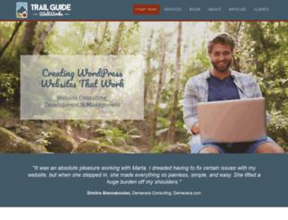 trailguidewebworks.com screenshot