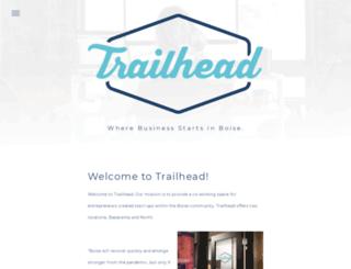 trailheadboise.org screenshot