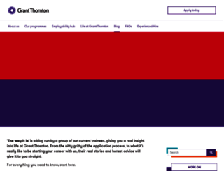 traineeblog.grant-thornton.co.uk screenshot