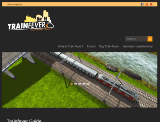 trainfevers.com screenshot
