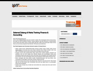 training-finance.com screenshot