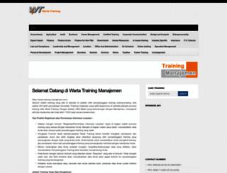 training-manajemen.com screenshot
