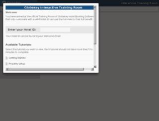 training.globekey.com screenshot