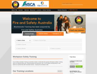 training.protectoralsafe.com.au screenshot