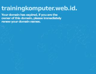 trainingkomputer.web.id screenshot