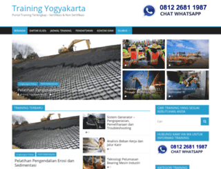 trainingyogyakarta.com screenshot