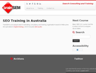 trainsem.com screenshot