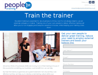 trainthetrainer.people1sttraining.co.uk screenshot