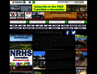trainweb.org screenshot