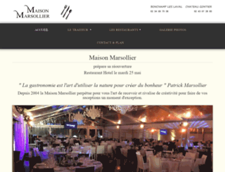 traiteur-marsollier.com screenshot