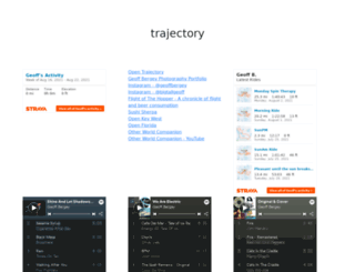 trajectory.org screenshot