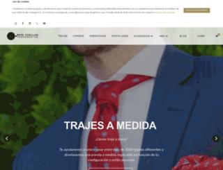 trajesamedida.com screenshot