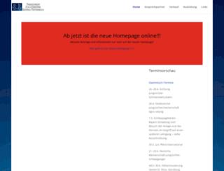 trakehner-bayern.de screenshot