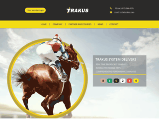 trakus.com screenshot