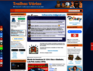 tralhasvarias.blogspot.com screenshot
