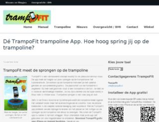 trampofit.nl screenshot