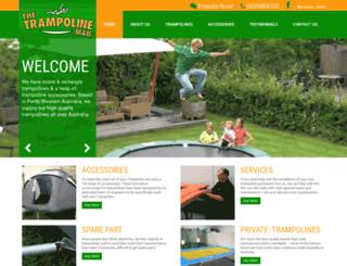 trampolineman.com.au screenshot