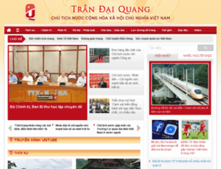 trandaiquangvn.net screenshot