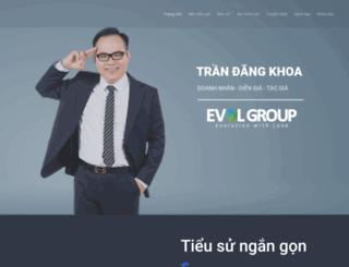 trandangkhoa.com screenshot