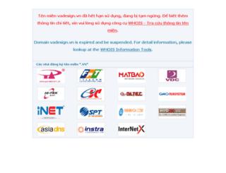 trangtribongbay.vadesign.vn screenshot