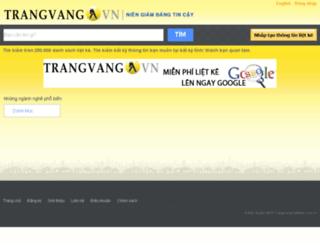 trangvang.com.vn screenshot