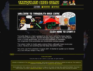 tranquilitybasecomic.co.uk screenshot