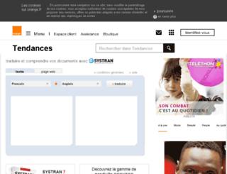 trans.voila.fr screenshot