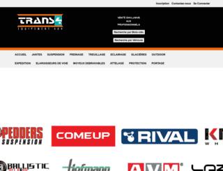 trans4x4.com screenshot