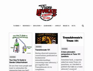 transadvocate.com screenshot