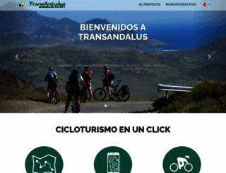 transandalus.org screenshot