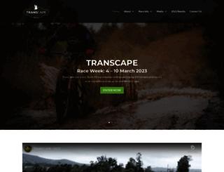 transcapemtb.co.za screenshot