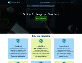 transcom.com.tr screenshot