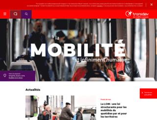 transdev.net screenshot