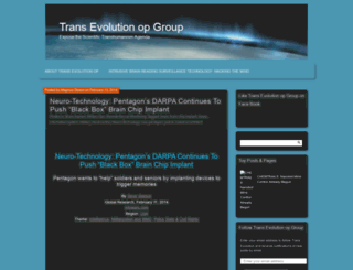 transevolutiongroup.wordpress.com screenshot