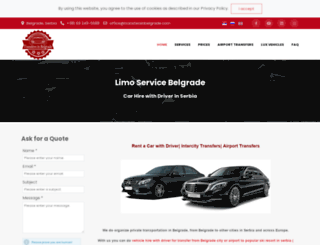 transfersinbelgrade.com screenshot