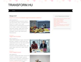transform.hu screenshot