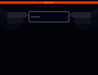transformacionhumana.com screenshot