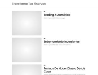 transformatusfinanzas.com screenshot